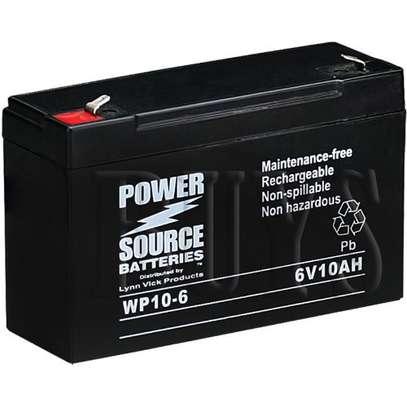 6v 10ah lead acid rechargeable battery image 1