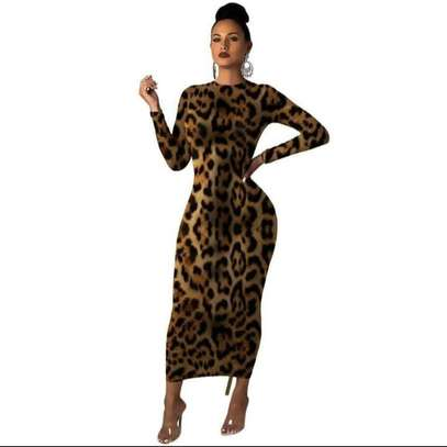 Animal print Bodycone dress image 1