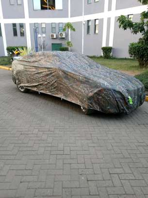 Custom-Made Waterproof Outdoor Car Dust, Sun and Rain Protective Covers image 3