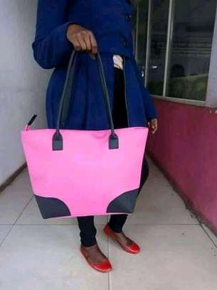 Ladies shoulder bag(pink) image 1