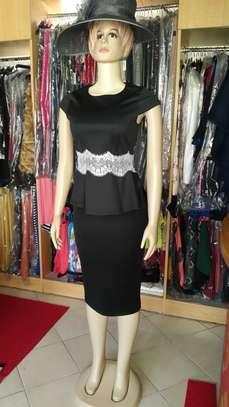 Peplum Top & Skirt Set image 2