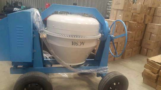 Aico concrete mixer machine 400l image 2