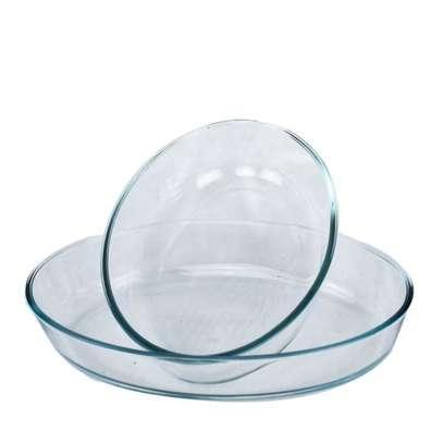 2PCS Glass Plate Set image 1