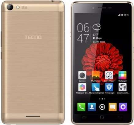 A lady owned Tecno L8