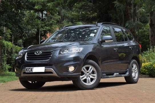 Hyundai SantaFe Year 2012 KCX Gray Color Ksh 1.95M image 2