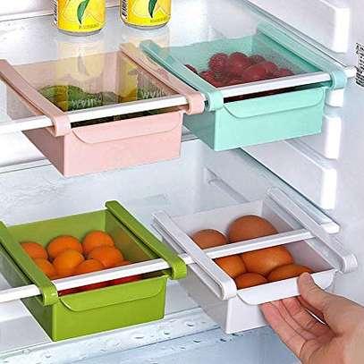 4 pieces multi purpose fridge shelves image 1
