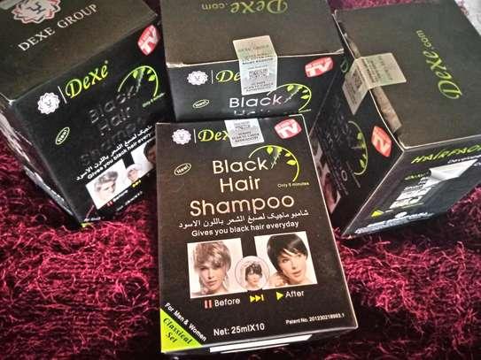 Black  hair shampoo image 1