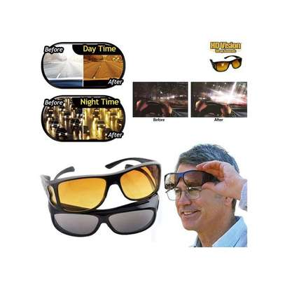 2 in 1 night and day vision glasses image 1