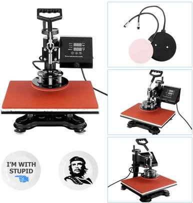 Heat Press, Heat Transfer Machine 12X15 8IN1 image 2