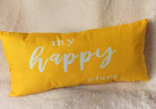 Yellow Throw Pillow Covers image 2