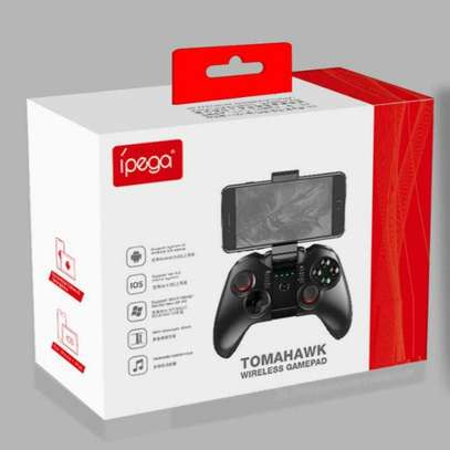 iPega pg-9068 Tomahawk Wireless BT Gamepad for Win XP Win7 8 TV Box Game Controller i-Phone i-Pad iOS System Samsung Galaxy Note HTC LG Android Tablet Pc Mac Osx image 1