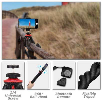 Flexible Camera and Mobile Tripod Stand Octopus image 1