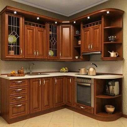 Modern kitchen cabinets/inbuilt kitchen cabinets/modern inbuilt home designs image 1