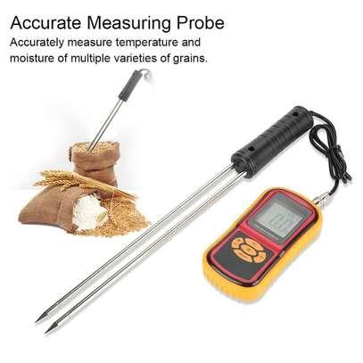 GM640 Portable Digital Backlit Grain Moisture Meter for Multiple Grains image 3