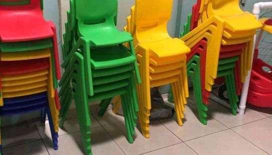 Kindergarten Plastic Chairs image 6