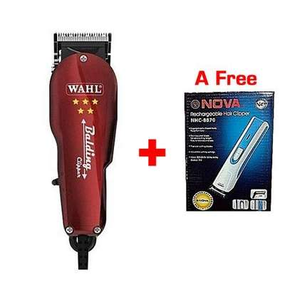Wahl Balding Professional Hair Clipper/Shaving Machine + a FREE Nova Rechargeable Hair Trimmer. image 1