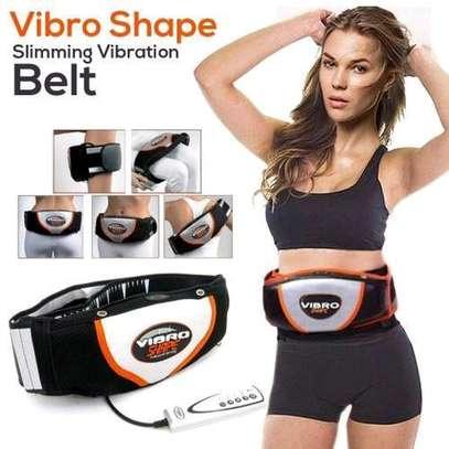 Vibro Vibration Heating Fat Burning Slimming Shape Belt Massager image 1