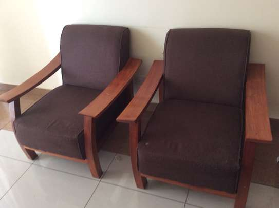 Sofa set, garden chair (2), tables (2), shoe rack, center table image 3