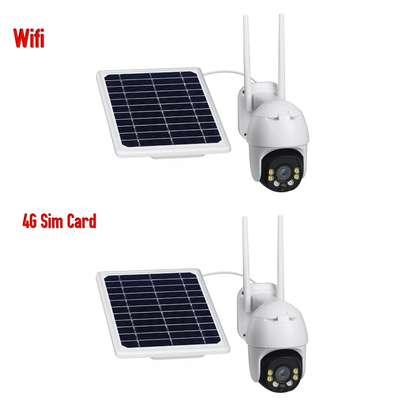 CCTV Solar Battery WiFi /4G simCard1080p Night Vision