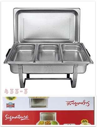 signature chaffing dishes image 1