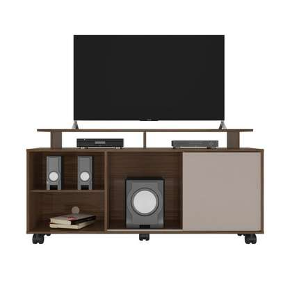 AVILA TV STAND RACK ( Colibri ) - TV Space up to 55 inches - TORONTO HIGH GLOSS image 1