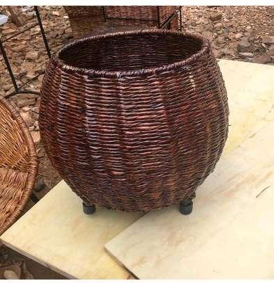 Wicker basket image 1