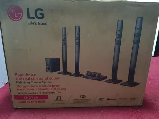 LG hometheatre 1200w , bluetooth