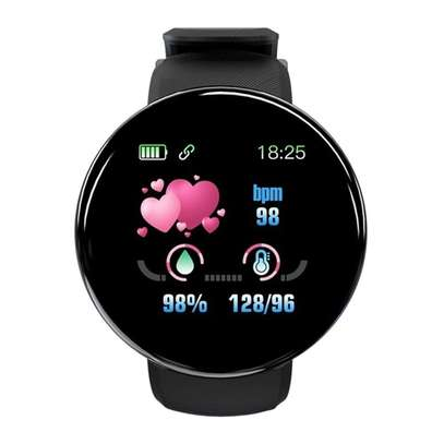 Fitness Tracker  with Heart Rate Blood Pressure Oxygen  Calorie  Waterproof  BLACK image 5