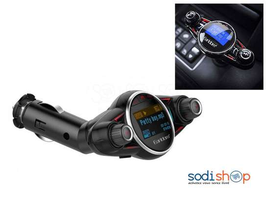 Earldom M30 Car FM Transmitter MP3+Charger+Aux V4.0 Bluetooth Modulator image 5