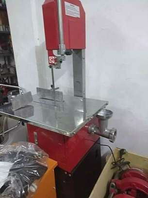 BRAND NEW BONE SAW WITH A MEAT MINCER. image 4