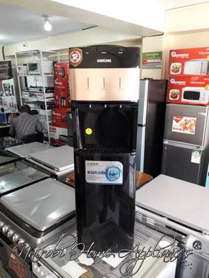 Bruhm Water Dispenser (Hot, Normal & Cold) With Fridge-BWD HNC1196R image 1