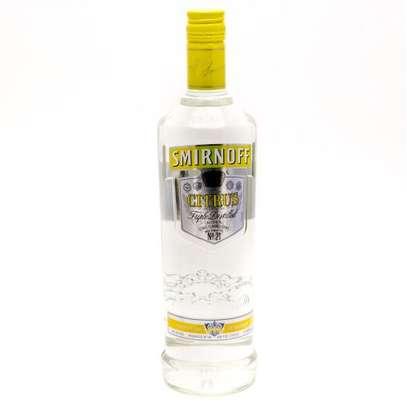 Smirnoff Citrus Vodka - 1000ml image 1