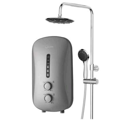 Tankless Instant Shower With inbuilt pump & Rain Shower image 1