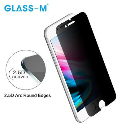 5D Full Glue Anti-spy Privacy Screen Protector For iPhone 8/8 Plus image 5