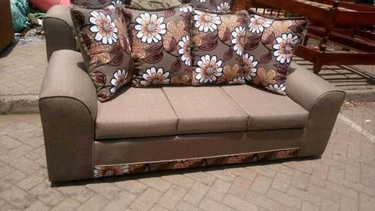 Ready Made Beautiful Modern Quality 3 Seater Sofa image 1