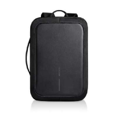 USB Charging/Earphones Ports Anti Theft Backpack Waterproof Smart Backpack with Coded Lock - Black image 1