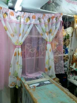 kitchen curtain 200cm width by 120cm height image 6