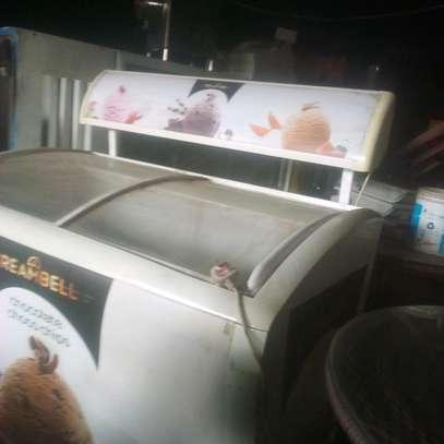 Ice cream display fridge image 1