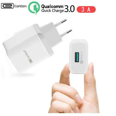 Qualcomm Fast Charge 3.0  Charger for Samsung iPhone HTC Huawei Xiaomi image 1