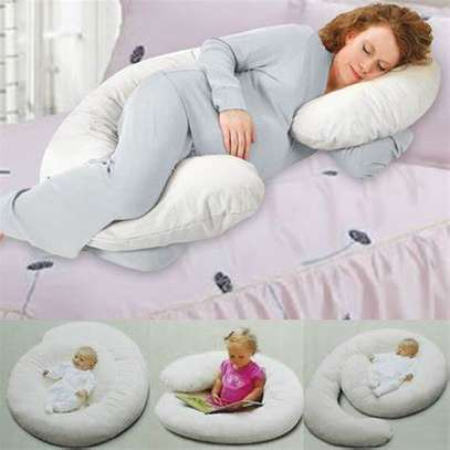 Back 'N Belly Pregnancy/Maternity Contoured Body Pillow image 2