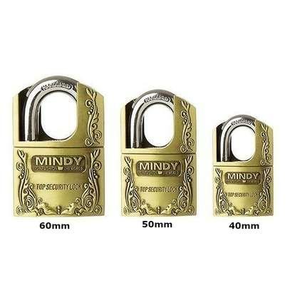 Mindy Security Vintage Padlock- 40mm 50mm 60mm image 1