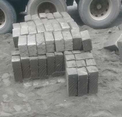 machine cut bricks image 2
