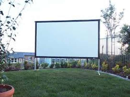 REAR PROJECTION SCREEN image 1