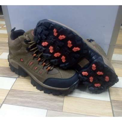 Sky View Green Fashion Boots  Hiking Durable Shoes image 2