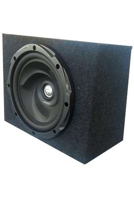 SUBWOOFER KENWOOD KFC-W3010-1000w fitted in a space saving cabinet image 1