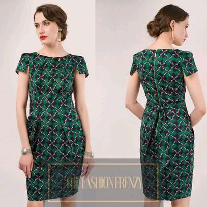 Closet London Green Tulip Dress