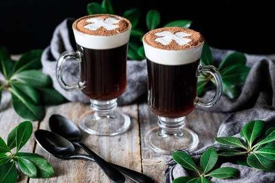 irish glass mugs image 1