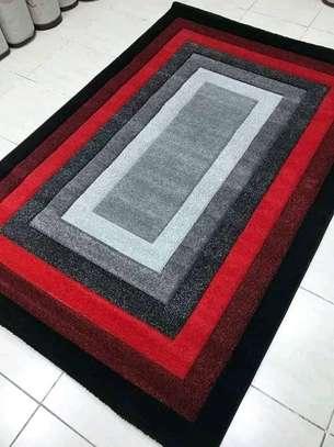 viva carpets red and black image 1
