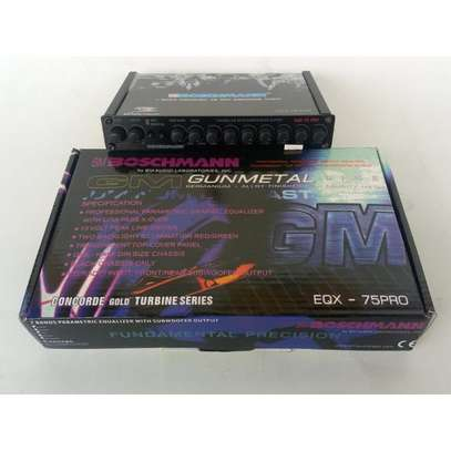 Boschmann Audio Equalizer EQX-75PRO 7 Band image 2