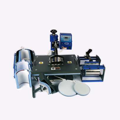 Sublimation Thermal Press 8 In 1 image 1